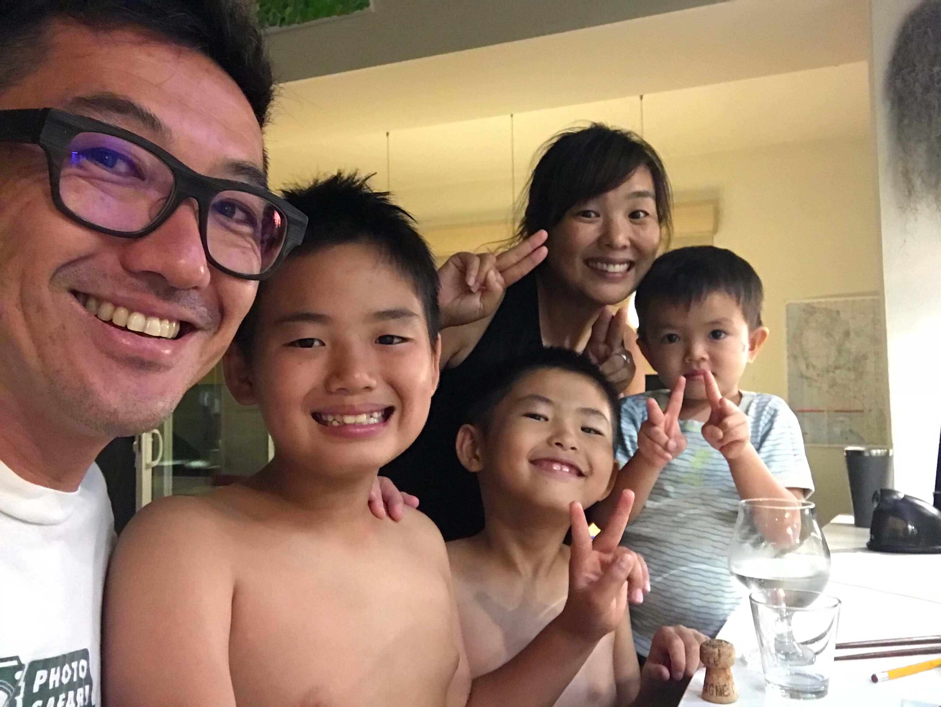 ハワイで大家:マイバースデー2018 家族で最高!
