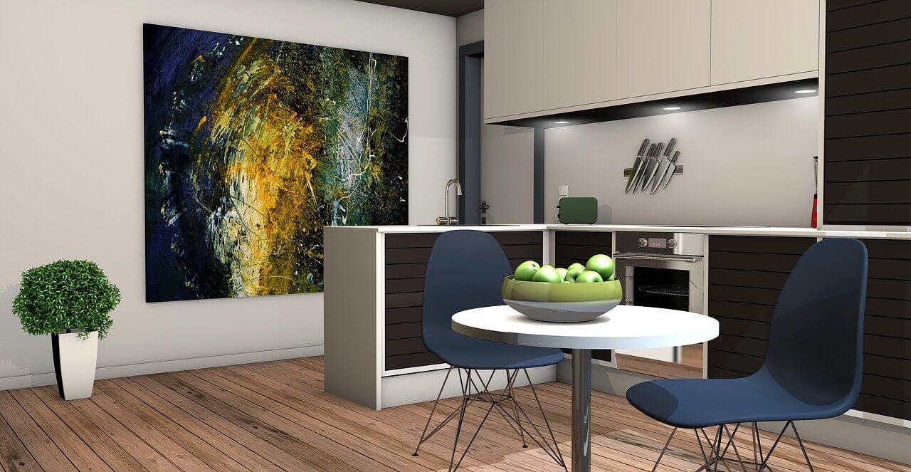 Kitchen Living Room Apartment - PIRO4D / Pixabay