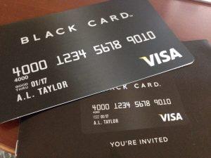 ハワイで大家:ブラックカードのInvitationが届きました。悩ましい。