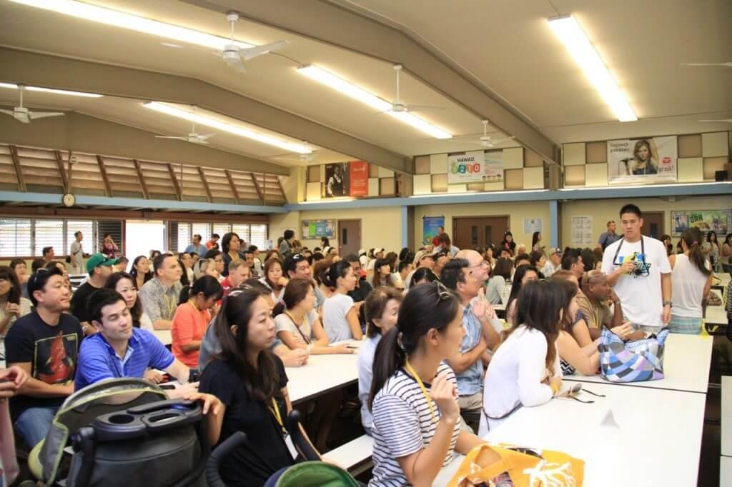 ハワイで大家:長男日本語補習校お遊戯会20141