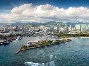 ハワイで大家:ワードビレッジ空撮