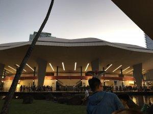 ハワイで大家:お初のブレイズデルセンター