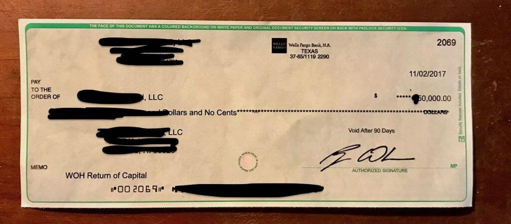 ハワイで大家:テキサスアパート投資金回収!