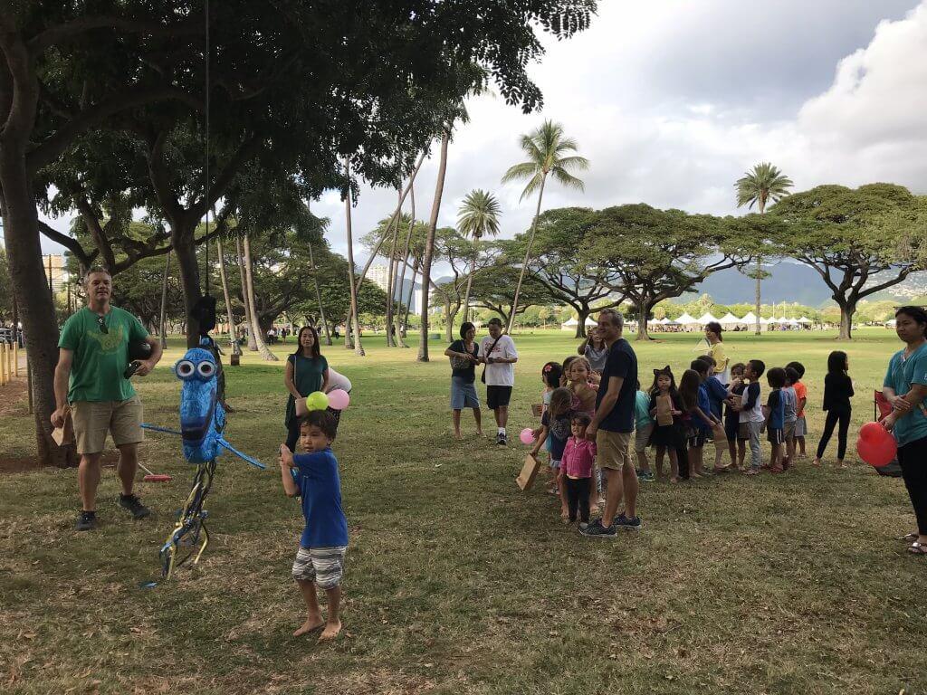 ハワイで大家:次男の仲良しのお友達のバースデーパーティー