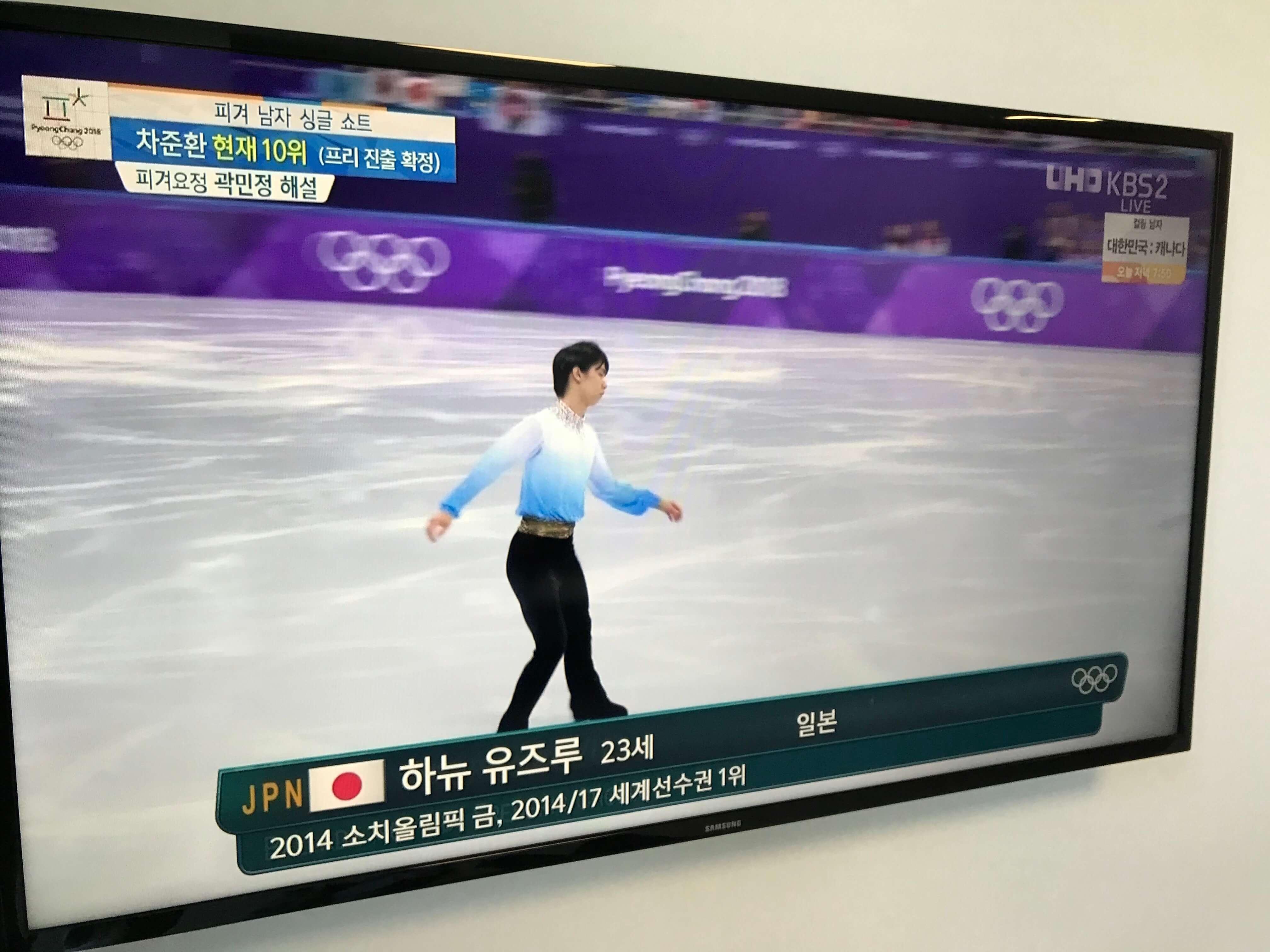 羽生頑張れ!日本現在メダル7個。スキースロープスタイルの日系カナダ人選手
