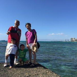 ハワイで大家:2014年両親来ハ