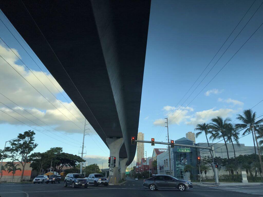 ハワイで大家:サッカー場に向かっています。@パールシティ