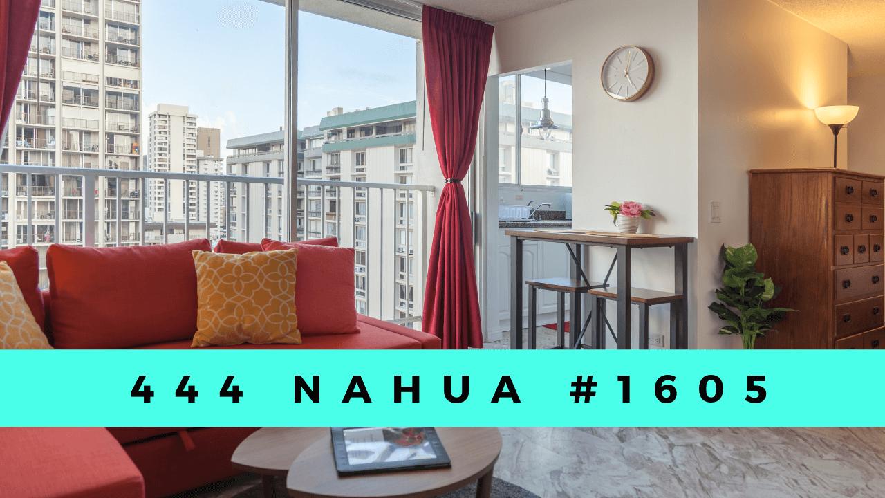 ハワイで大家:444 Nahua #1605
