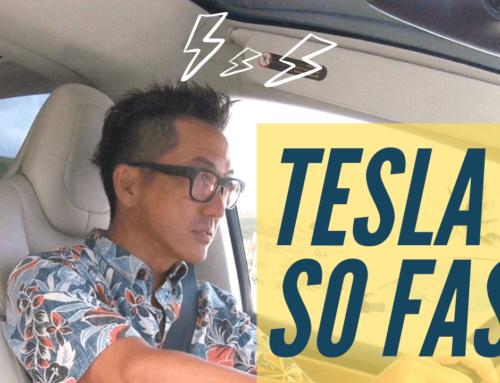 [ハワイEV生活]テスラXがチョッパヤだった件